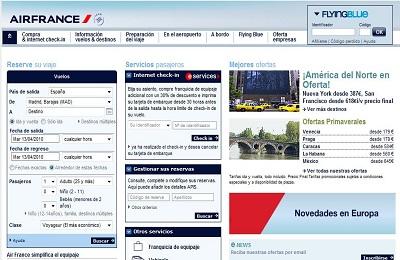 air-france-sitio-web