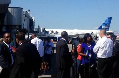 Jet Blue Haiti