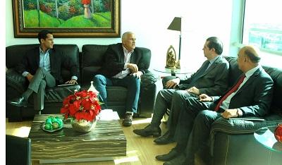 Tres Ministros reunidos