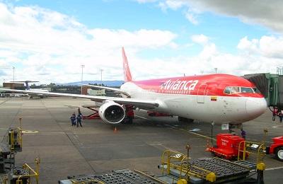 Avianca_767-200_at_El_Dorado