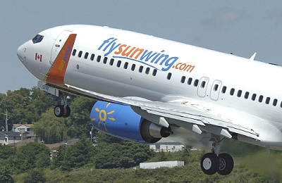 Boeing Delivers a 737-800 to Canadas Sunwing