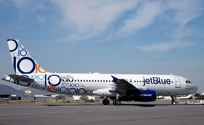 JETBLUE AIRWAYS JETBLUE 10TH ANNIVERSARY AIRBUS