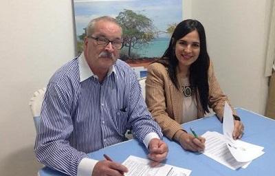 Maximo Iglesias y Tamara Vasquez