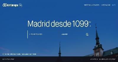 Website Air Europa