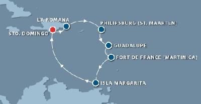 itinerario-crucero-caribe-tropical-7noches-santo-domingo