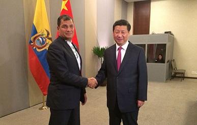 Ecuador - China IF