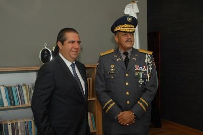 Ministro Garcia Policia
