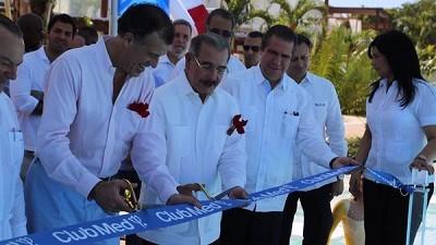 Club Med corte de cinta