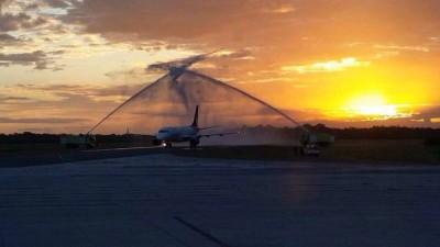 Aeromexico Arco de agua