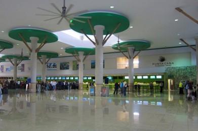 El remodelado y ampliado Aeropuerto Internacional de Punta Cana
