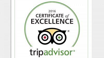 TripAdvisor Excelencia 2016
