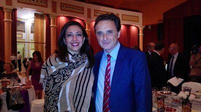 Isabel Vázquez Dir OPT MItur RD en España junto al Alcalde de Torremolinos José Ortiz García
