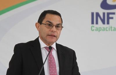 Director general del INFOTEP Rafael Ovalles da a conocer los detalles del programa de capacitación
