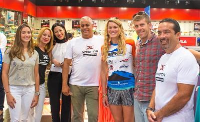 Equipo organizador Triatlón Xterra Barahona