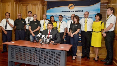 Fotografia Principal Víctor Pacheco Presidente de la línea aérea dominicana Dominican Wings