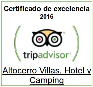 certificado TripAdvisor