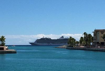 Infotur Dominicano 187 Exitosa Llegada Del Crucero Ocean 237 A